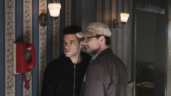 Mr. Robot TV show on USA Network: season 2 (canceled or renewed?).