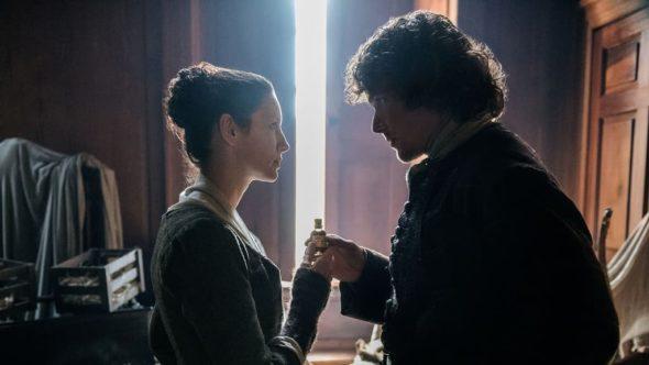Outlander TV show on Starz: season 3 (canceled or renewed?).