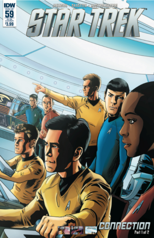 Star Trek TV show 50th anniversary IDW comic