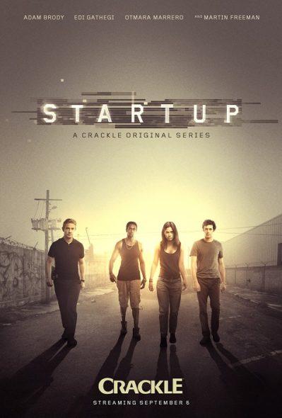 StartUp TV show on Crackle season 1 premiere (canceled or renewed?)