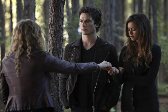 The Vampire Diaries TV show on The CW: season eight (canceled or renewed?).