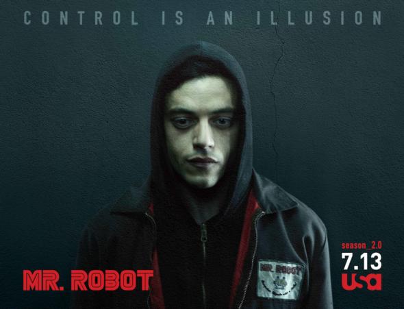 Mr Robot TV show on USA Network: season 2