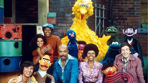 Sesame Street TV show on PBS