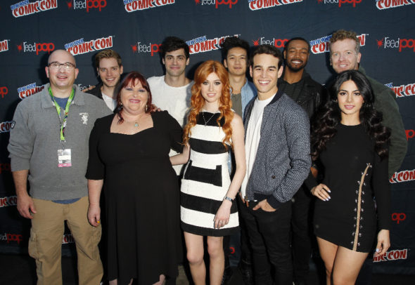 Shadowhunters TV show on Freeform: season 2 showrunner Ed Decter leaves (canceled or renewed?).