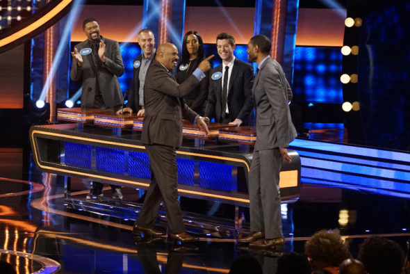 Celebrity Family Feud TV show on ABC: season 3 renewal for ABC game show.