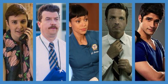 2016-17 season canceled or ending TV shows