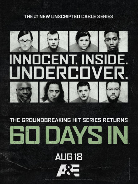 60 Days In TV show on A&E: season 2 premiere (canceled or renewed?).