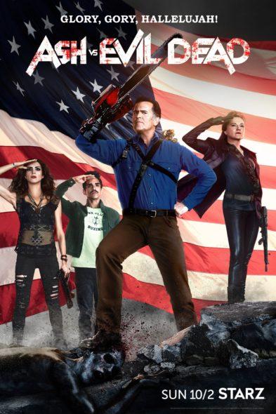 Ash Vs Evil Dead TV show on Starz: season two (canceled or renewed?)