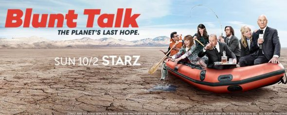 Blunt Talk TV show on Starz: canceled, no season 3 (canceled or renewed?)
