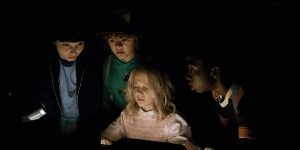 Stranger Things TV show on Netflix: season 2 renewal.