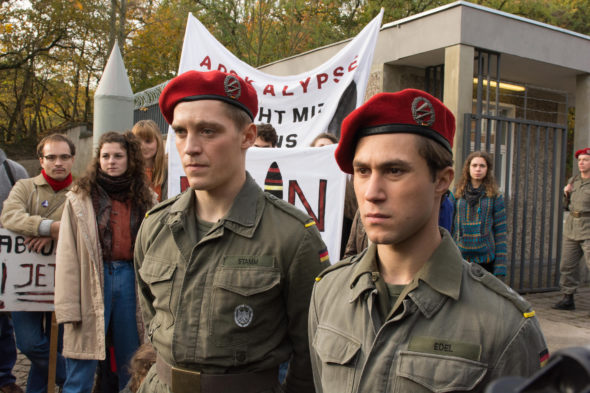 Deutschland 83 TV show on Sundance TV and Amazon: season 2 (canceled or renewed?).