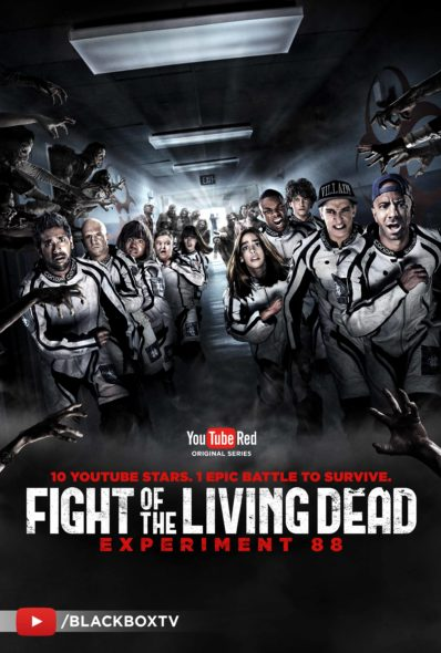 Fight of the Living Dead TV series on Youtube Red: season 1 (canceled or renewed?).