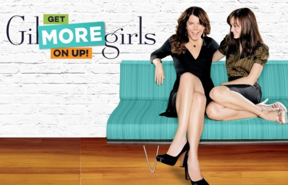 Gilmore Girls TV show complete series marathon on UP TV.