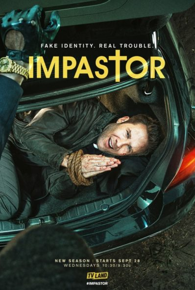 Impastor TV show on TV Land: season 2 poster (canceled or renewed?).