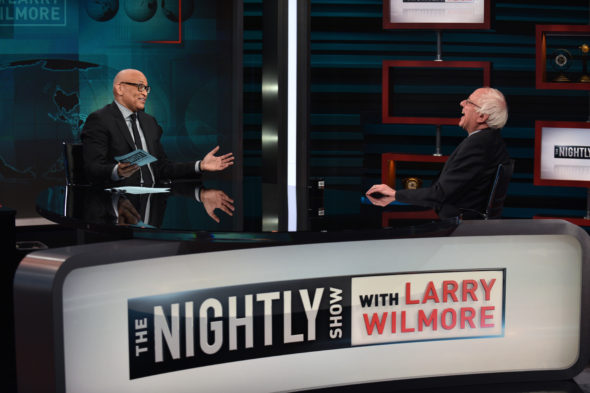 The Nightly Show with Larry Wilmore on Comedy Central: canceled, no season 3.