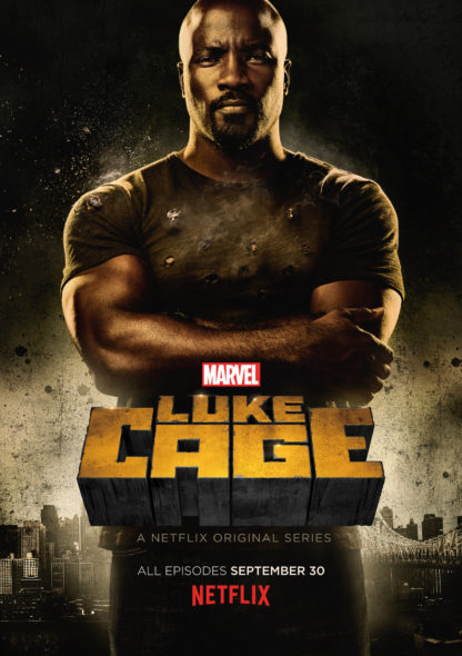 Marvel's Luke Cage TV show on Netflix: season 1 poster (canceled or renewed?).