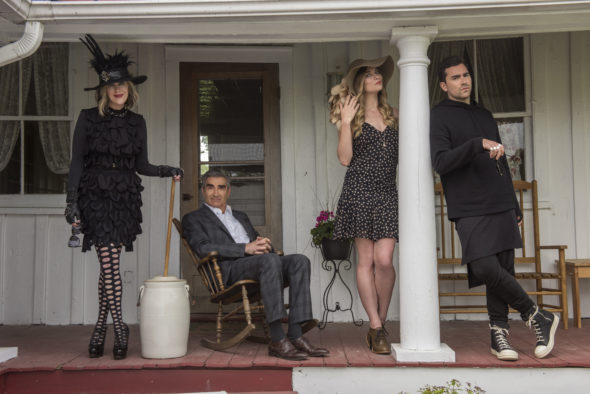 Schitt's Creek TV show on Pop TV: season 3 (canceled or renewed?).