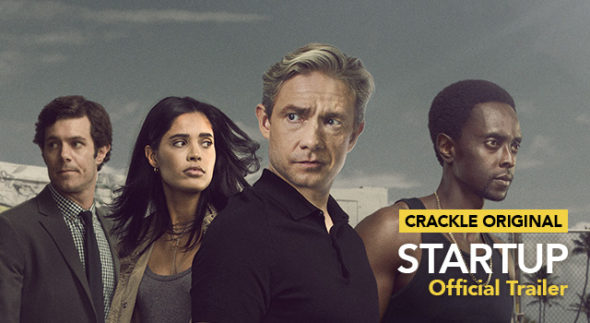 StartUp TV show on Crackle: season 1 (canceled or renewed?).