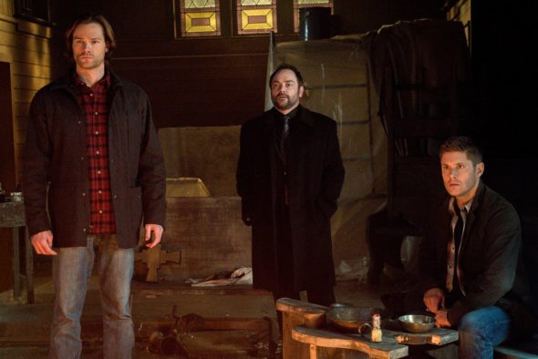 Supernatural TV show on The CW: season 12 (canceled or renewed?) season 13.