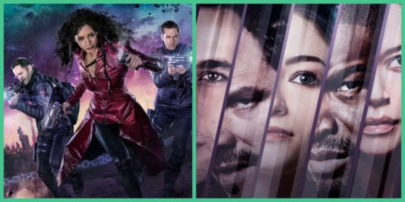 Dark Matter, Killjoys TV shows on Syfy: season 3?
