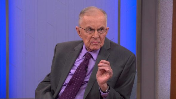 John McLaughlin; The McLaughlin Group TV show on PBS: canceled/ending.