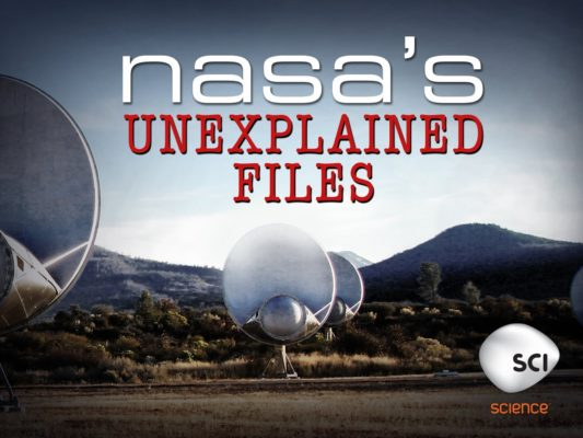 NASA's Unexplained Files TV show on Science Channel