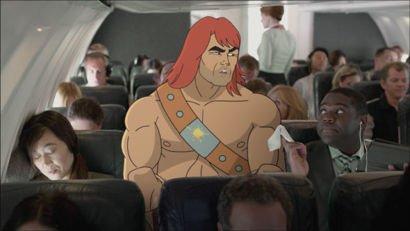 SON OF ZORN: Zorn (center, voiced by Jason Sudeikis) in SON OF ZORN premiering Sunday, Sept. 25 (8:30-9:00 PM ET/PT) on FOX. ©2016 Fox Broadcasting Co. Cr: FOX