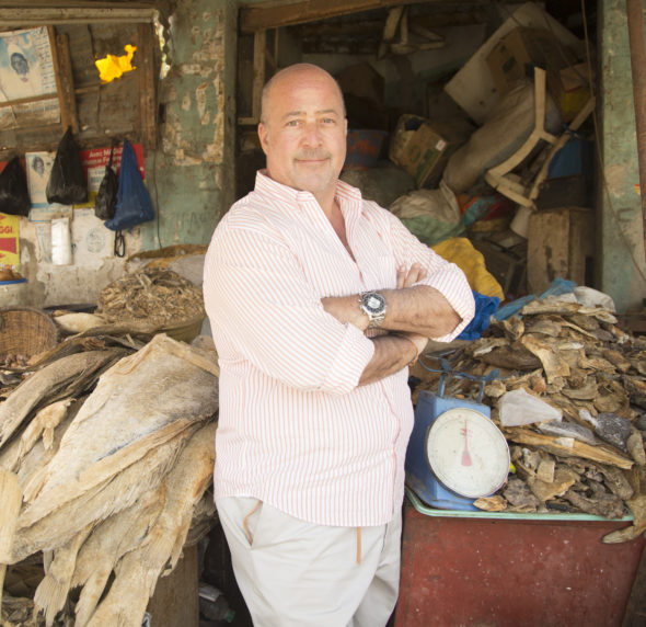 Bizarre Foods TV show on Travel channel: season premiere (canceled or renewed?)