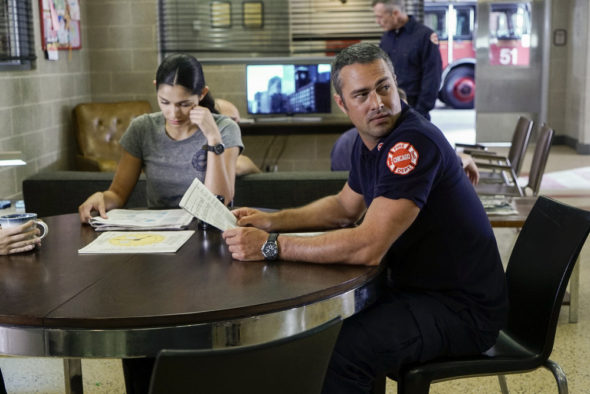 Chicago Fire TV show on NBC: season 5 (canceled or renewed?).