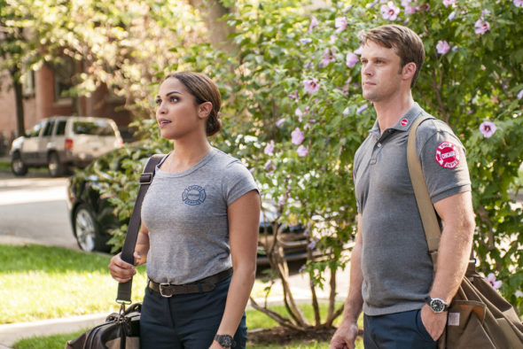 Chicago Fire TV show on NBC: season 5 (canceled or renewed?)
