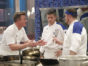 "HELL'S KITCHEN: L-R:  Host / chef Gordon Ramsay with contestants Koop and Andrew in the all-new ""17 Chefs Compete"" episode of HELL'S KITCHEN airing Friday, Sept. 30 (8:00-9:01 PM ET/PT) on FOX. Cr: Greg Gayne / FOX. © 2016 FOX Broadcasting Co."