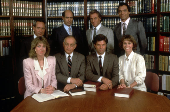 L.A. Law TV show on NBC: 30th anniversary of the premiere.