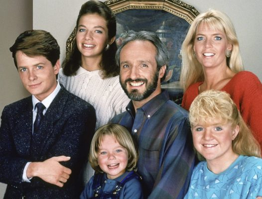 Family Ties TV show on NBC