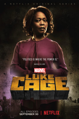 Marvel's Luke Cage TV show on Netflix