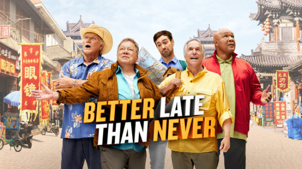 Better Late Than Never TV show on NBC