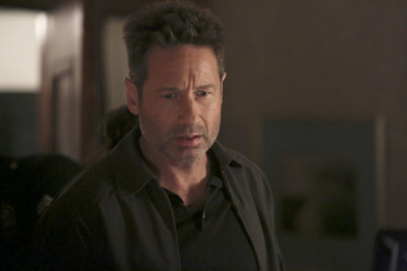 "AQUARIUS -- ""I Will"" Episode 213 -- Pictured: David Duchovny as Sam Hodiak -- (Photo by: Jordin Althhaus/NBC)"