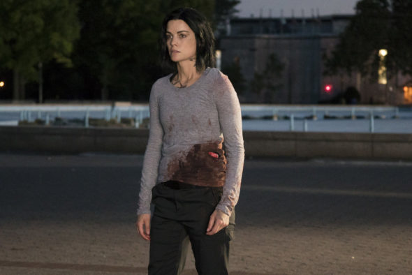 "BLINDSPOT -- ""In Night So Ransomed Rogue"" Episode 201 -- Pictured: Jaimie Alexander as Jane Doe -- (Photo by: Virginia Sherwood/NBC)"