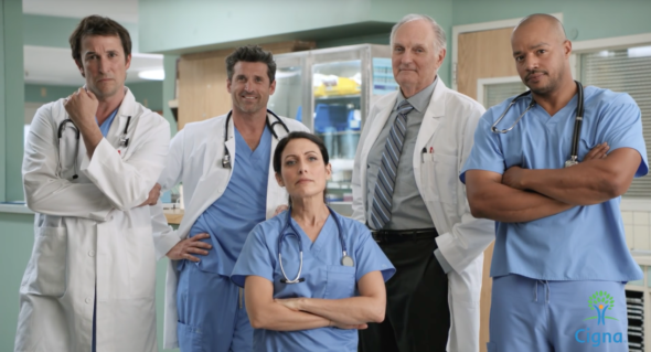 Mash House Scrubs Er Tv Doctors Unite For New Commercial