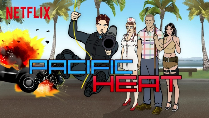 Pacific Heat Netflix Picks Up Animated Comedy Series