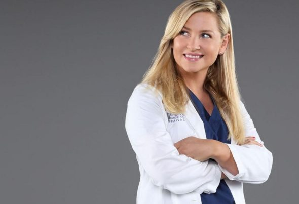 Jessica Capshaw on Grey's Anatomy