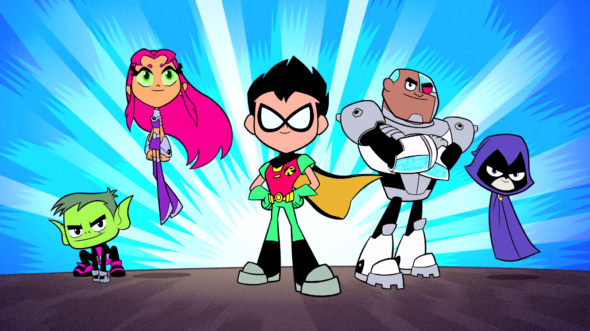 Teen Titans Go! TV show on Cartoon Network