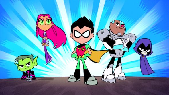 Teen Titans Go! TV show on Cartoon Network