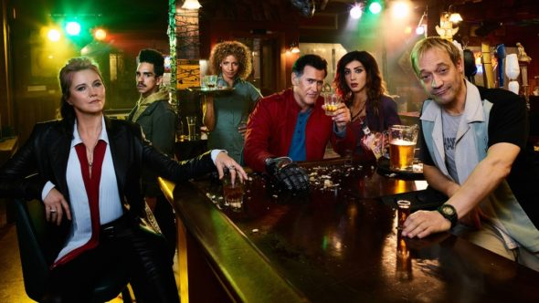 Ash Vs Evil Dead TV show on Starz: season 2 (canceled or renewed?)