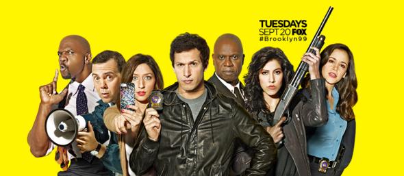 Brooklyn Nine-Nine TV show on FOX: ratings (cancel or renew for season 5?)