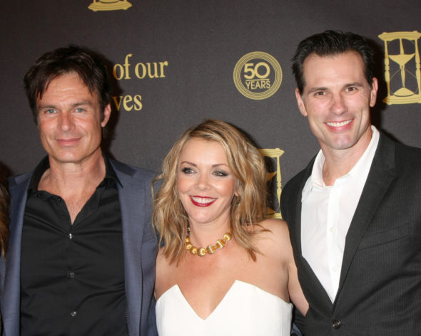 Christie Clark, Austin Peck return to Days of Our Lives TV show on NBC (canceled or renewed?).