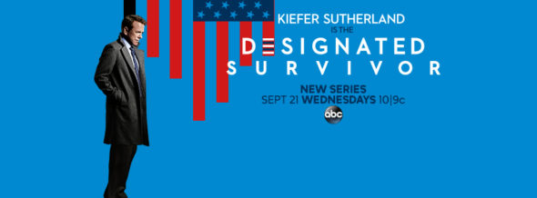 Designated Survivor TV show on ABC: ratings (cancel or season 2?)