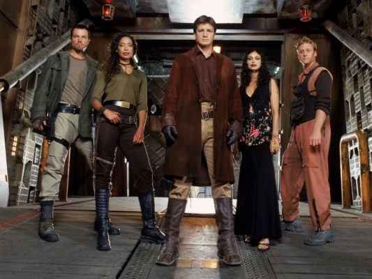 Firefly TV show on FOX: canceled, no season 2.