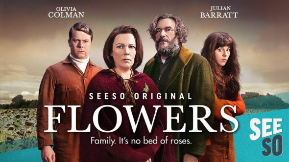 Flowers TV show on Seeso and Channel 4: season 4 renewal.
