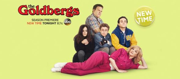 The Goldbergs TV show on ABC: ratings (cancel or season 5?)