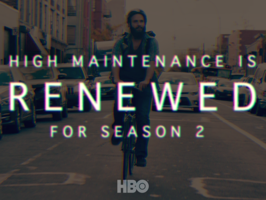 High Maintenance TV show on HBO: season 2 renewal.